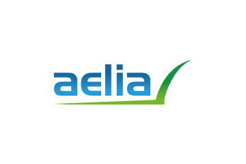"logo du groupement de pharmacies ""Aelia"""