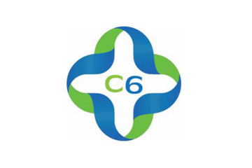 "logo du groupement de pharmacies ""C6 Pharma"""