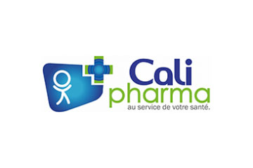 "logo du groupement de pharmacies ""Calipharma"""