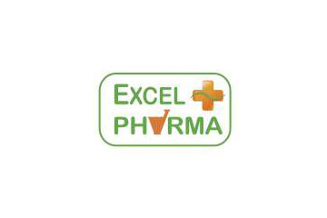 "logo du groupement de pharmacies ""Excel Pharma"""