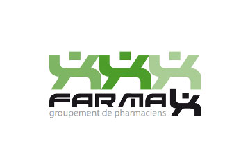 "logo du groupement de pharmacies ""Farmax"""