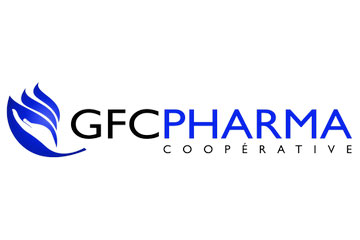"logo du groupement de pharmacies ""GFC Pharma"""