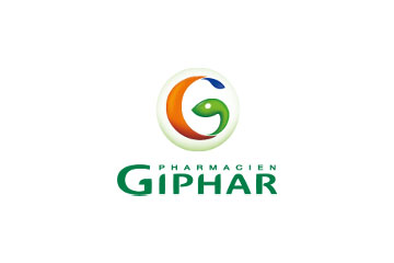 "logo du groupement de pharmacies ""Giphar"""