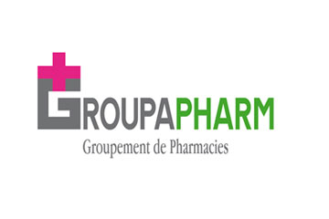 "logo du groupement de pharmacies ""Groupapharm"""