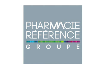 "logo du groupement de pharmacies ""PHR"""