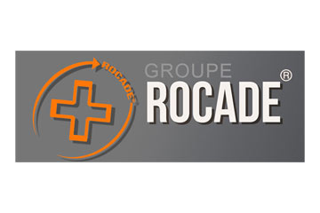 "logo du groupement de pharmacies ""Groupe Rocade"""