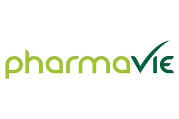 "logo du groupement de pharmacies ""Pharmavie"""