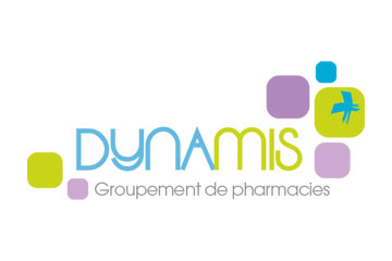 "logo du groupement de pharmacies ""Dynamis"""