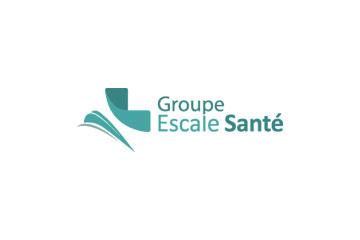 """logo du groupement de pharmacies """"Escale Santé"""""""
