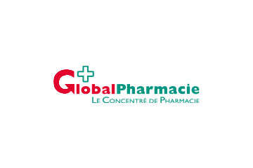 "logo du groupement de pharmacies ""Global Pharmacie"""